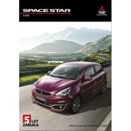 SPACE STAR ceník