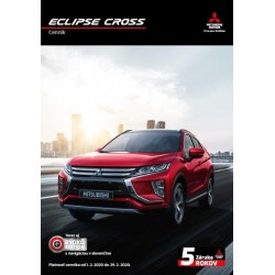 ECLIPSE CROSS cenník